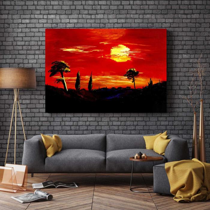 Tablou Canvas - Apus Superb 2