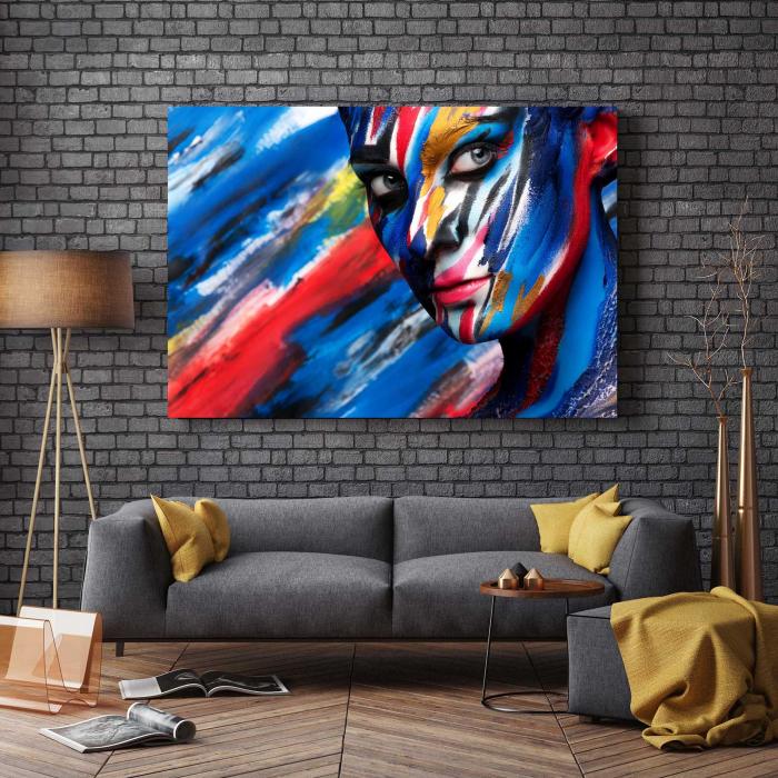 Tablou Canvas - Art Girl [2]