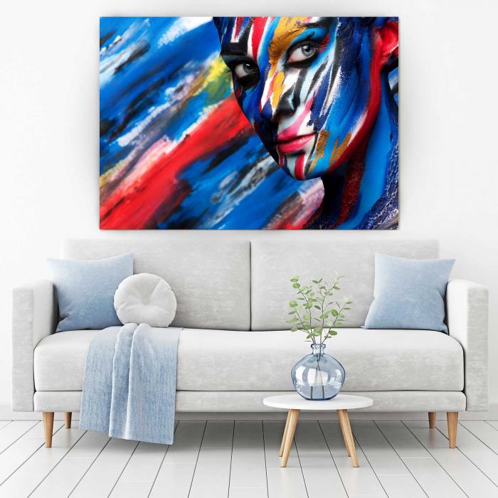 Tablou Canvas - Art Girl [1]