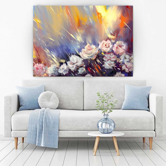 Tablou Canvas - Arta florilor [1]