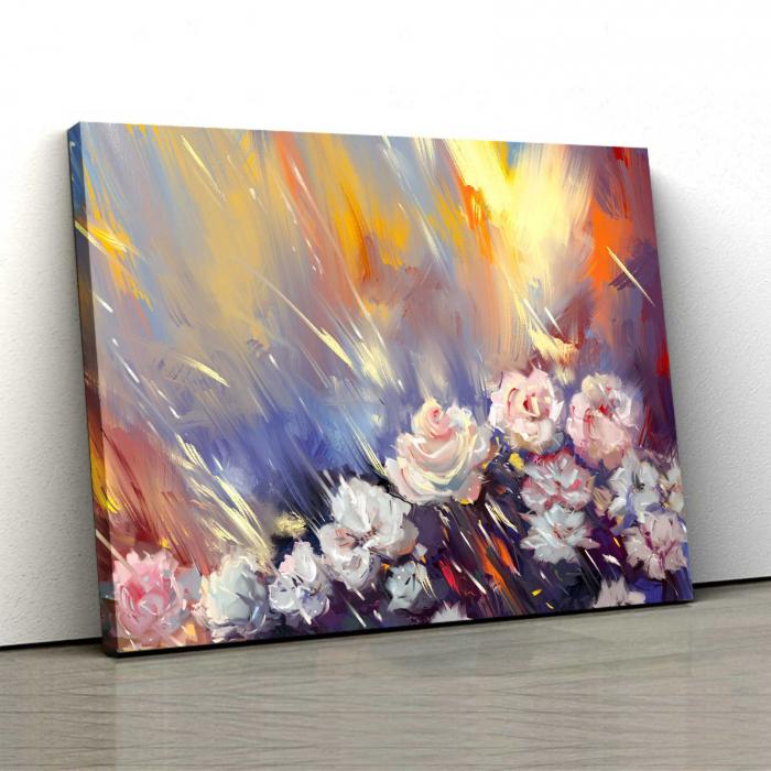 Tablou Canvas - Arta florilor [0]