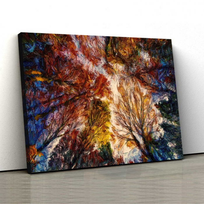 Tablou Canvas - Autumn Trees 0