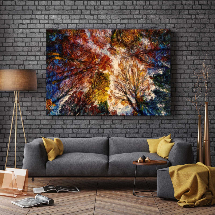 Tablou Canvas - Autumn Trees 2