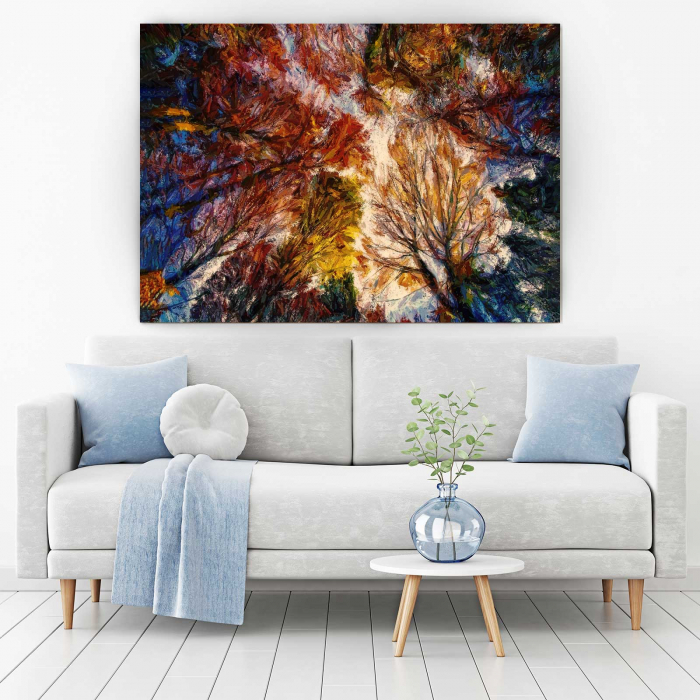 Tablou Canvas - Autumn Trees 1