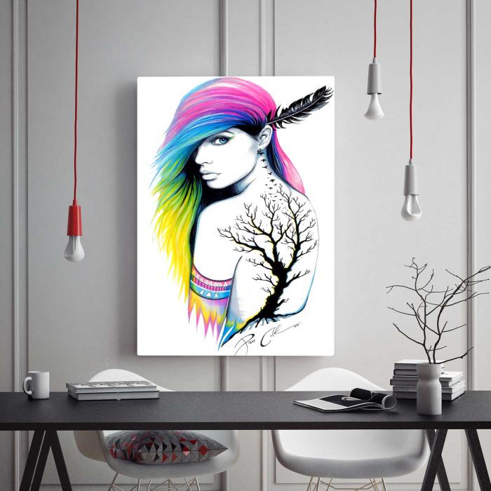 Tablou Canvas - Beauty Girl 1