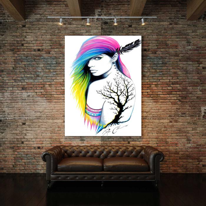Tablou Canvas - Beauty Girl 2
