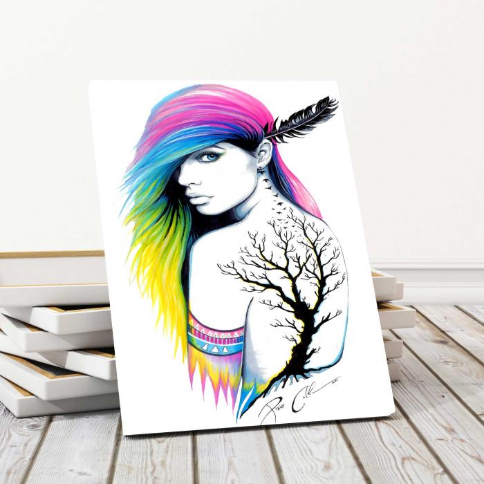 Tablou Canvas - Beauty Girl 0
