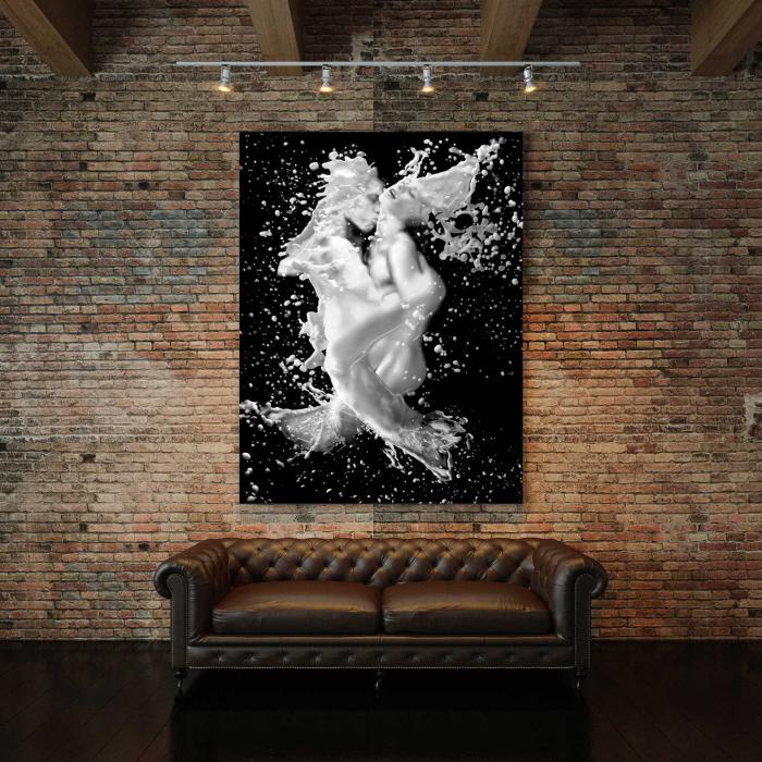 Tablou Canvas - Black And White Print 2
