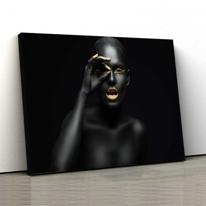 Tablou Canvas - Black girl [0]