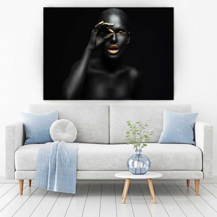 Tablou Canvas - Black girl [1]