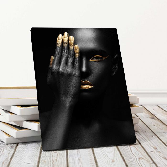 Tablou Canvas - Black Woman [0]
