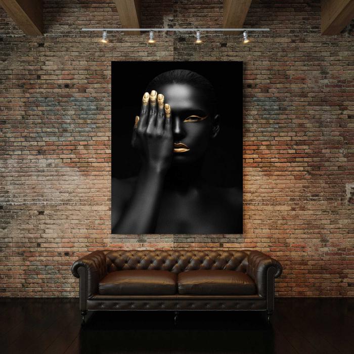 Tablou Canvas - Black Woman [2]