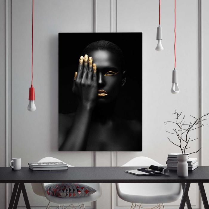 Tablou Canvas - Black Woman [1]