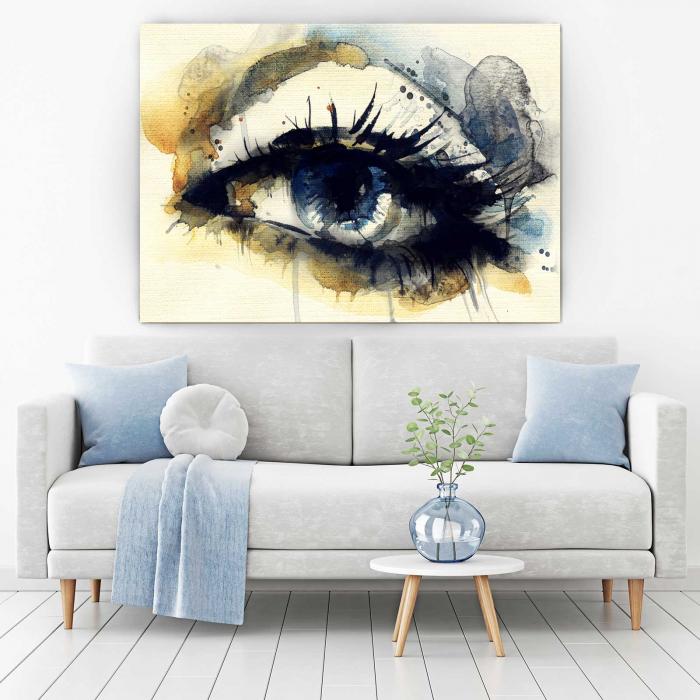 Tablou Canvas - Blue Eye [1]