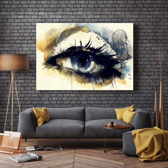 Tablou Canvas - Blue Eye [2]
