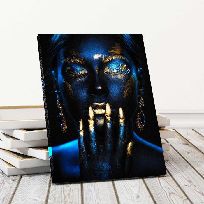 Tablou Canvas - Blue Girl [0]
