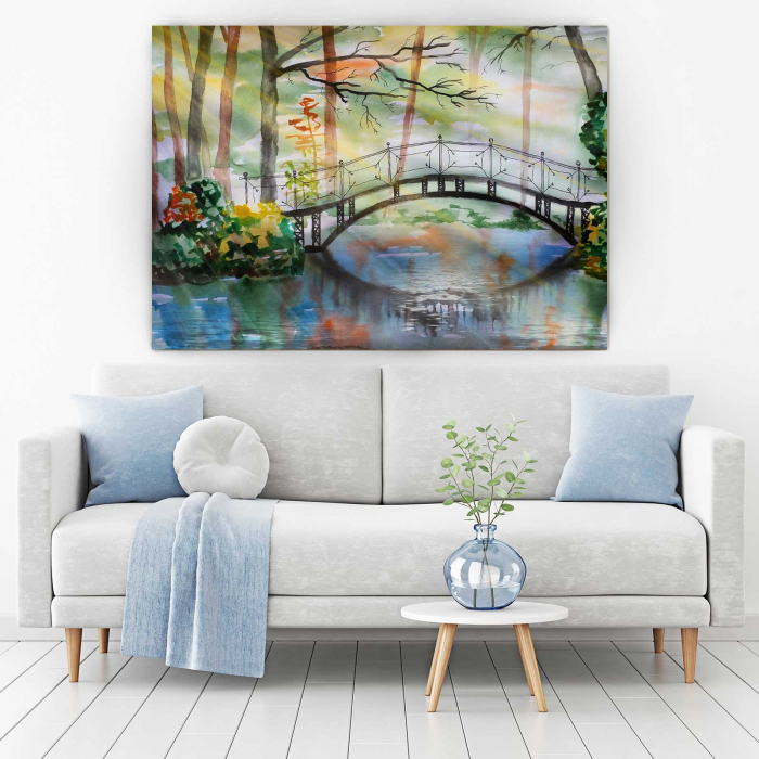 Tablou Canvas - Bridge 1