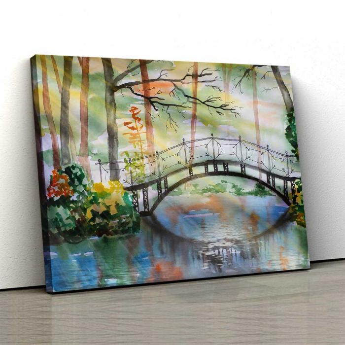 Tablou Canvas - Bridge 0