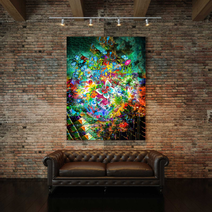 tablou canvas modern fluture abstract [2]