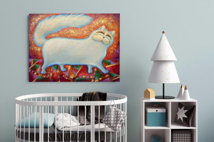tablou-canvas-copii-hello-cat-cadouri [1]