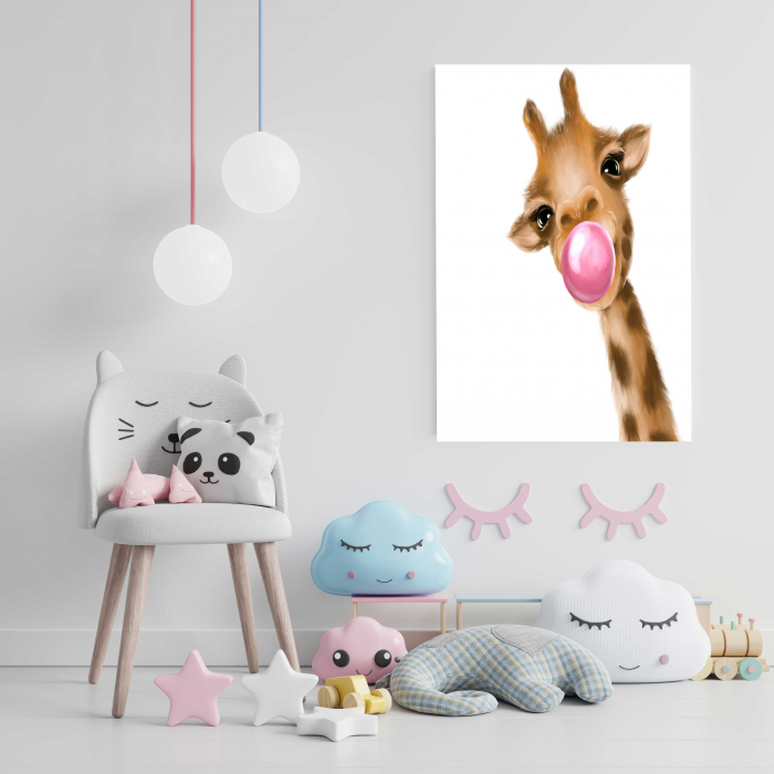 tablou-canvas-copii-cadouri-giraffe 2