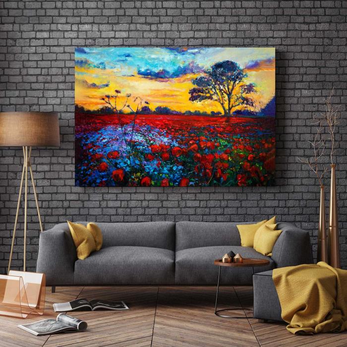 Tablou Canvas - Camp Floral [2]
