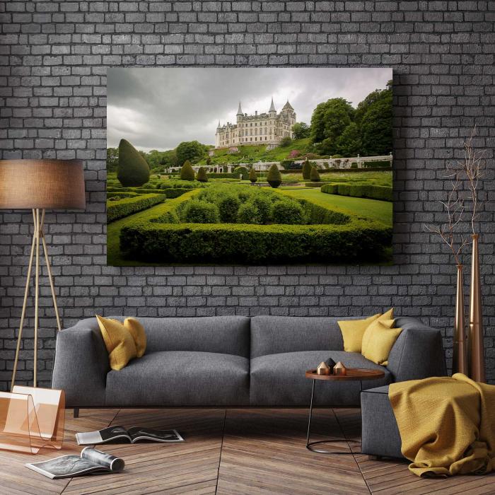 Tablou Canvas - Castelul Dunrobin [2]