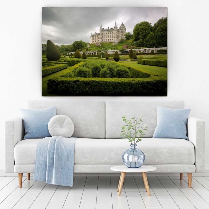Tablou Canvas - Castelul Dunrobin [1]