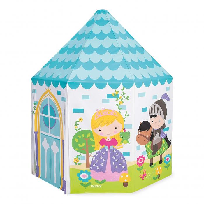 Casuta copii interior, din plastic , 104 x 104 x 130 cm [0]
