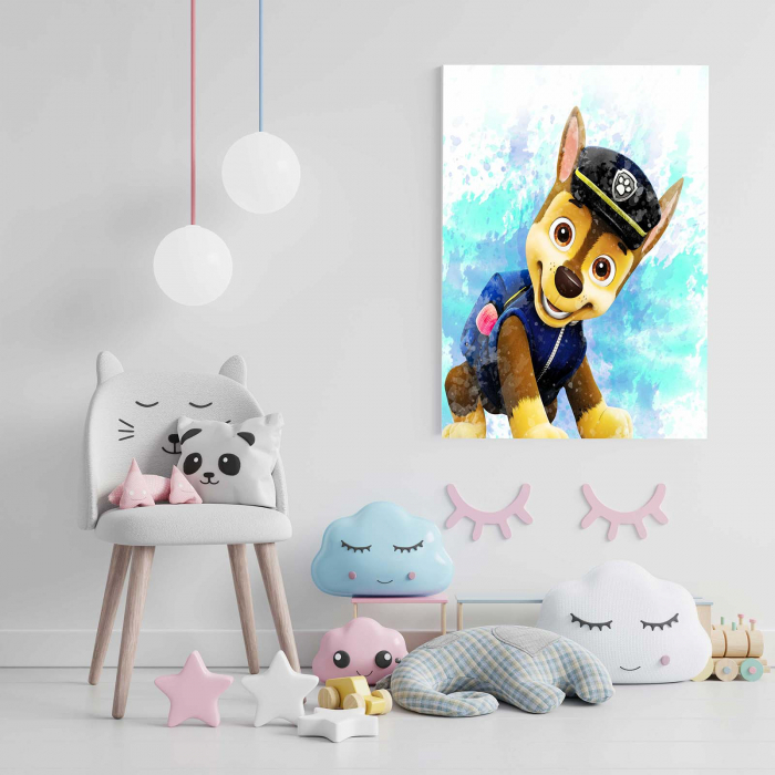 Tablou Canvas Copii - Happy Dog 1