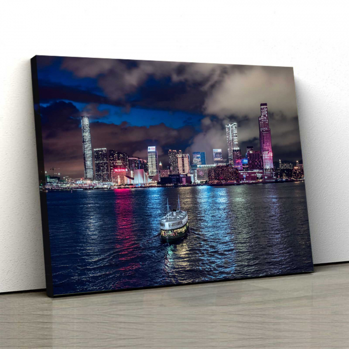 Tablou Canvas - City View 0
