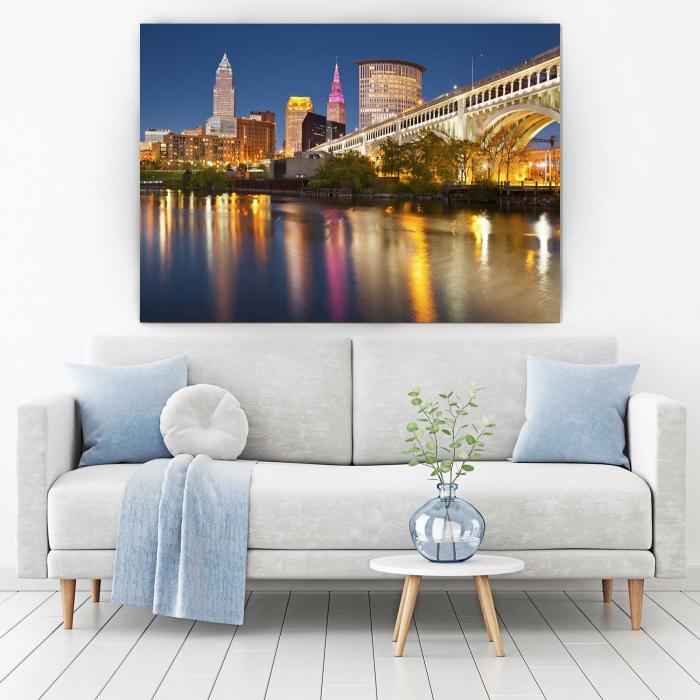 Tablou Canvas - Cleveland [1]