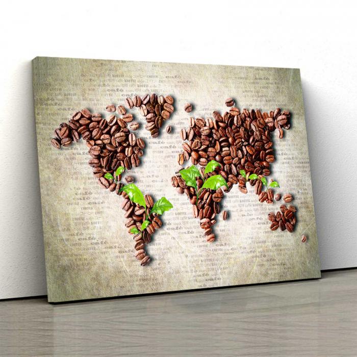 Tablou Canvas - Coffee 0