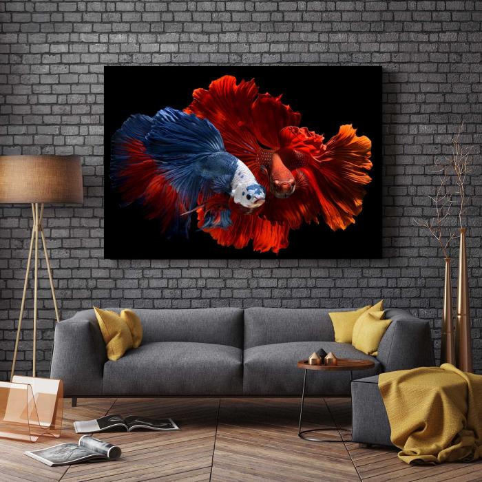 Tablou Canvas - Colorful Fish 2