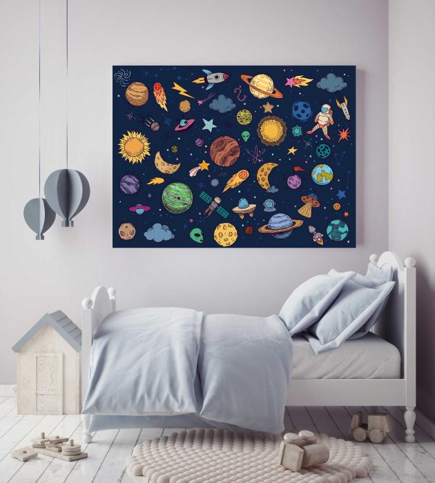 Tablouri Copii - Univers 1