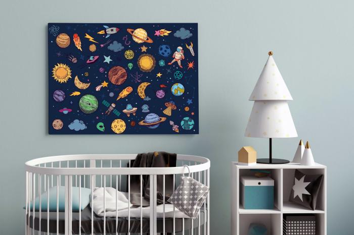 Tablouri Copii - Univers 2