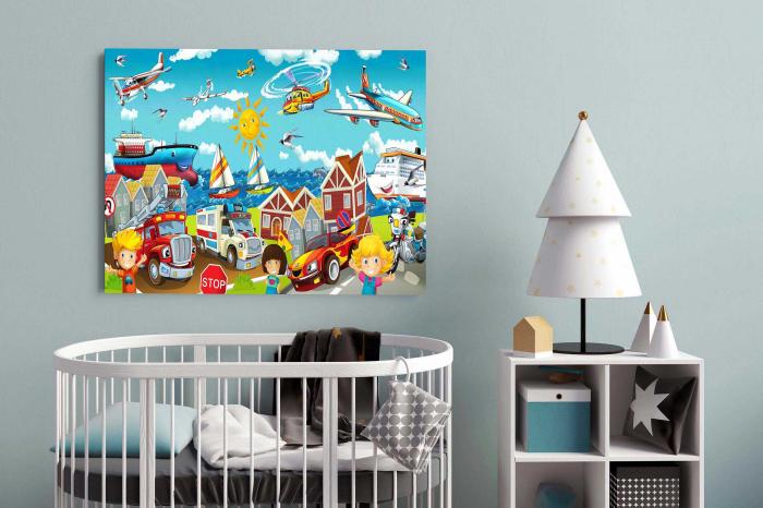 Tablou Canvas Copii - Lumea Copiilor [2]