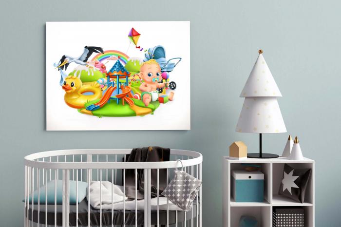 Tablou Canvas Copii - Toys [2]