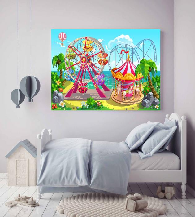 Tablou Canvas Copii - Kids World 2