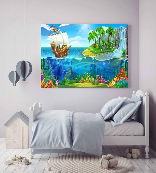 Tablou Canvas Copii - Travel [1]