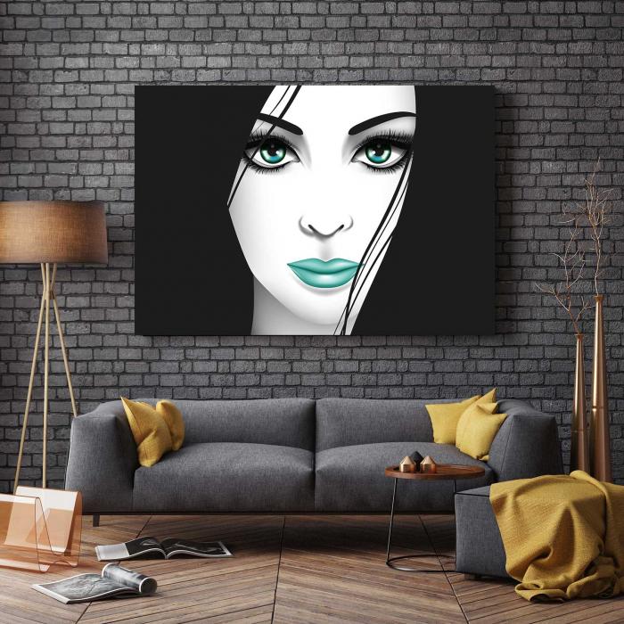 Tablou Canvas - Creativ Girl 2
