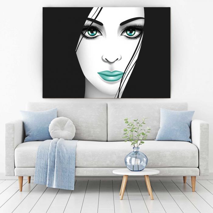 Tablou Canvas - Creativ Girl 1