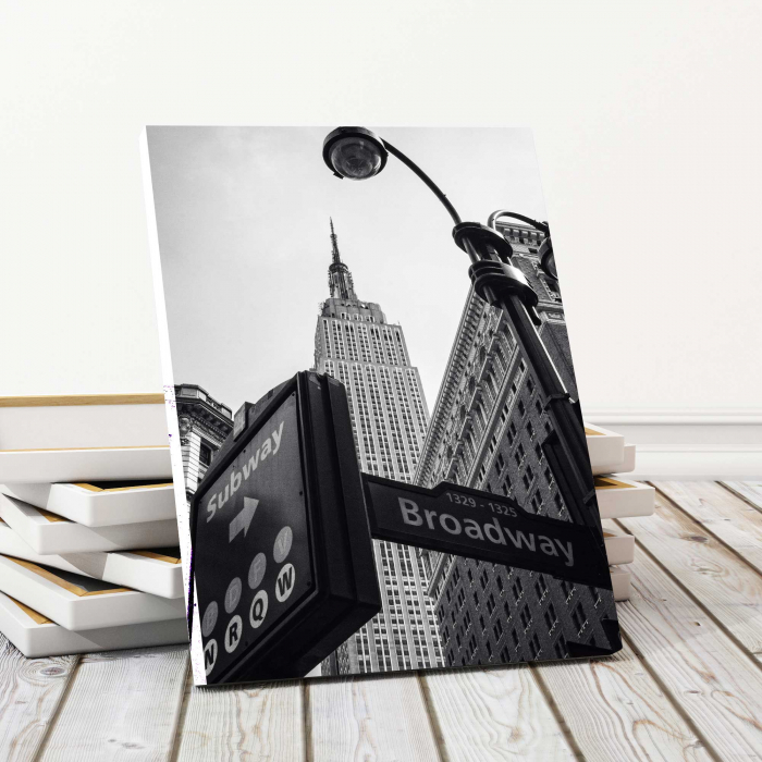 Tablou Canvas - Empire State Building 0