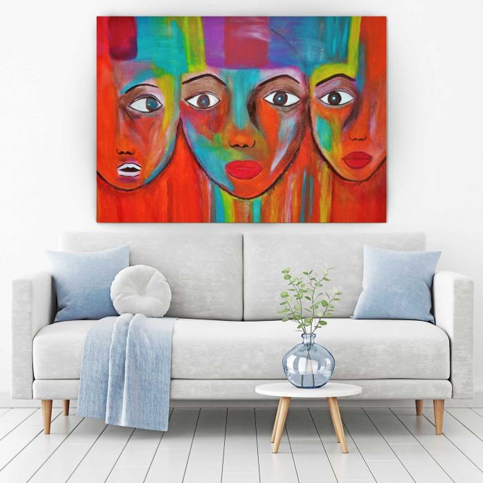 Tablou Canvas - Face 1