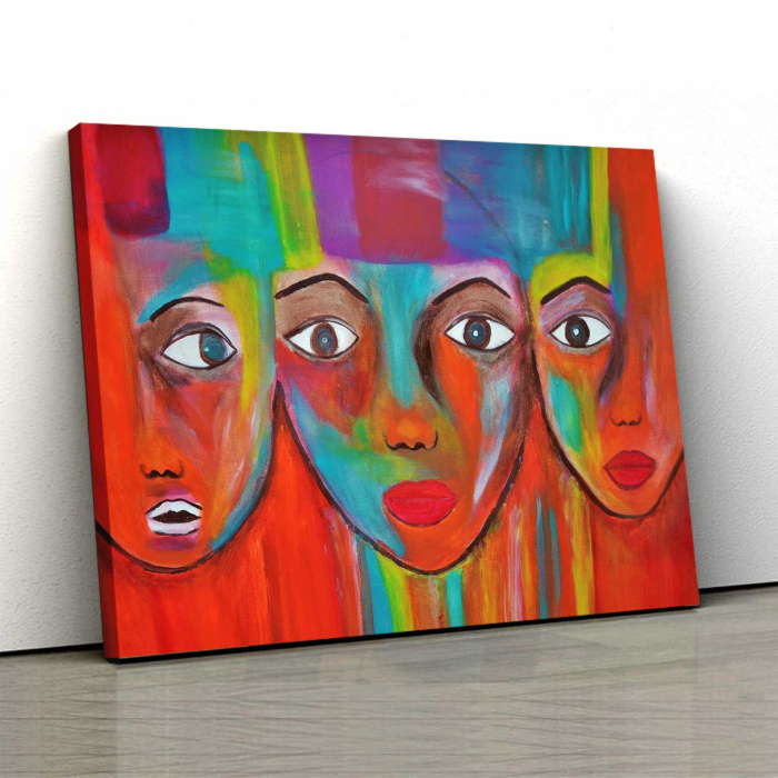 Tablou Canvas - Face 0
