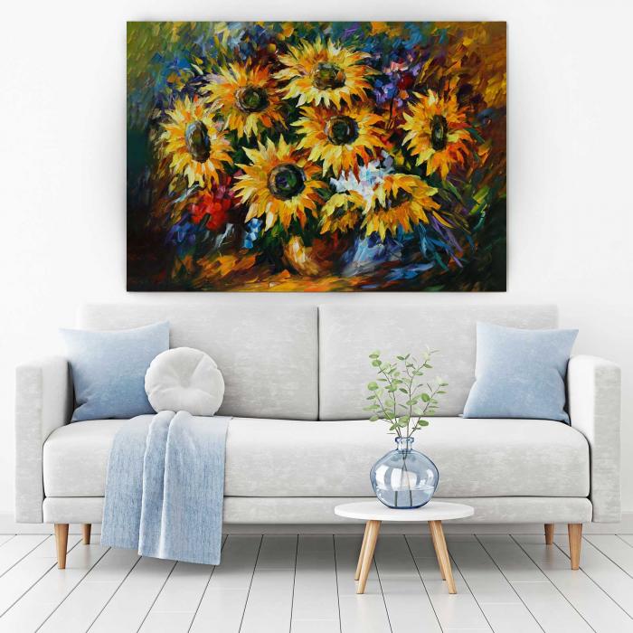 Tablou Canvas - Floarea-Soarelui [1]