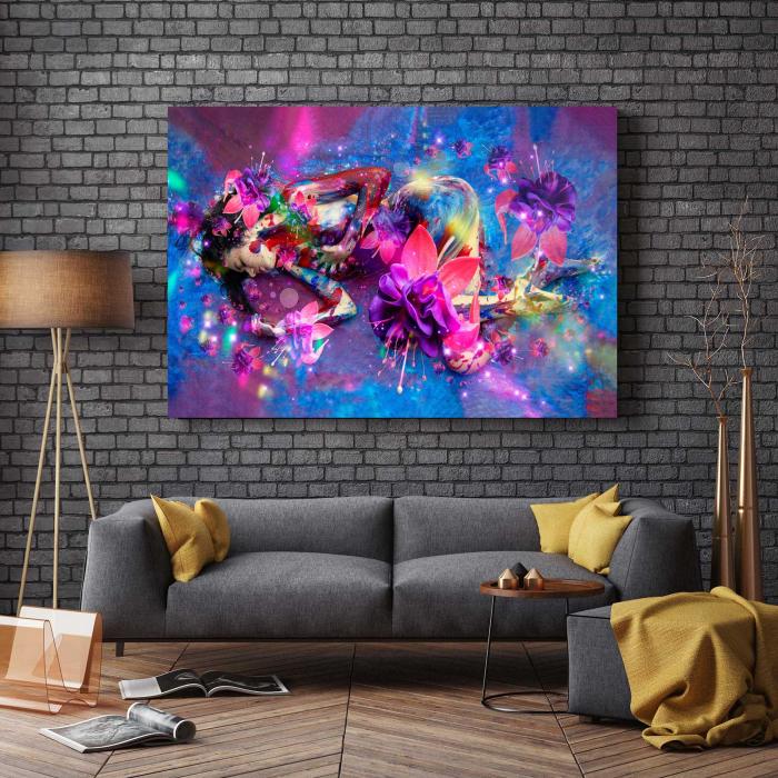 Tablou Canvas - Flower Girl [2]