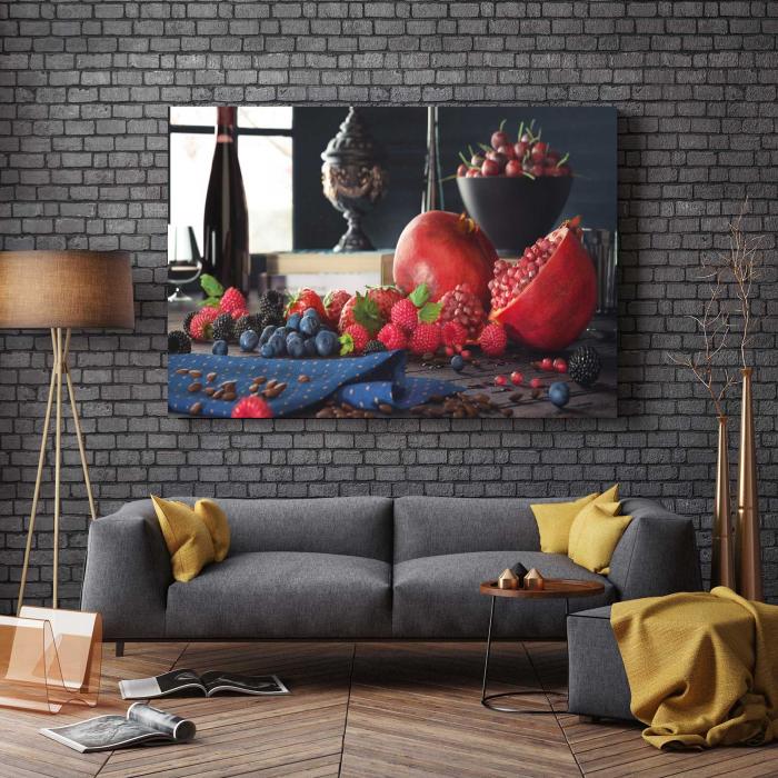 Tablou Canvas - Fructe pe masa 2