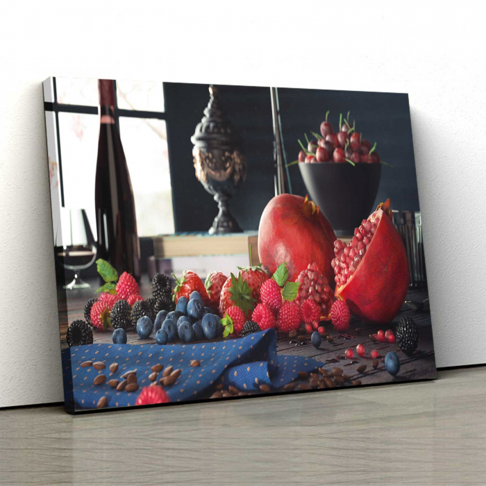 Tablou Canvas - Fructe pe masa 0