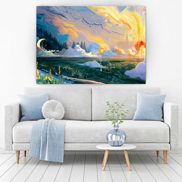 Tablou Canvas - Fundal Peisaj 1